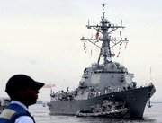 (Jun. 13) -The destroyerUSS McCampbell, shown arriving in 2007 in Yokosuka, Japan, recently stopped a North Korean ship thought have been smuggling missile components to Myanmar (Koichi Kamoshida/Getty Images).