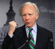 (Jun. 15) -U.S. Senator Joseph Lieberman (I-Conn.), shown last month, on Tuesday announced he would again submit legislation aimed in part at improving protections at disease research laboratories in the United States (Alex Wong/Getty Images).