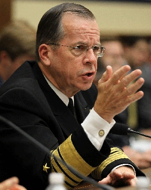 (Jul. 8) -U.S. Joint Chiefs of Staff Chairman Adm. Michael Mullen, shown last month, on Thursday said Pakistan appears to wield sufficient control over its nuclear arsenal to avert seizure by any extremist infiltrators in the army or intelligence sector (Alex Wong/Getty Images).