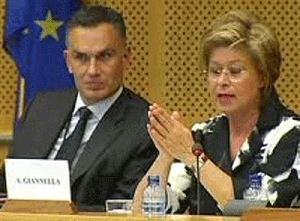 (Jul. 22) -Annalisa Giannella, the European Union's personal representative for WMD nonproliferation, said a Brussels seminar had kindled dialogue on banning weapons of mass destruction in the Middle East (European Commission photo).