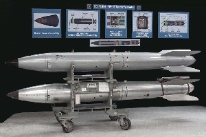 (Oct. 12) -A U.S. B-61 nuclear gravity bomb trainer assembly. Representative Edward Markey (D-Mass.) on Tuesday urged a special congressional deficit reduction committee to cut U.S. nuclear weapons spending by $200 billion over the next decade (Sandia National Laboratories/Natural Resources Defense Council).