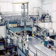 The NRU Reactor at Chalk River, Canada, where MDS Nordion irradiates HEU targets to produce medical isotopes