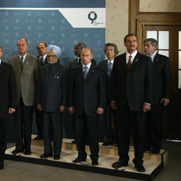G8 leaders and leaders of emerging economies, Gleneagles, UK