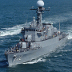 South Korean naval ship Cheonan patrols the sea in an unidentified location in the territorial waters of South Korea.