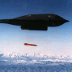 B-2A bomber releasing a test B61-11 gravity bomb over Tonopah Test Range, Nevada