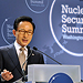 President Lee Myung-bak announces Korea to host the 2012 Nuclear Security Summit
