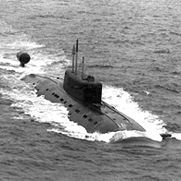 Project 945 Barrakuda (NATO name Sierra I) Submarine