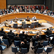 Security Council Holds Open Meeting on Middle East