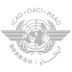 The official logo of the International Civil Aviation Organization (ICAO).