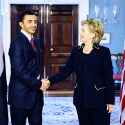 Secretary Clinton meets with UAE Foreign Minister Sheikh Abdullah bin Zayed Al Nahyan to discuss the U.S. - UAE Partnership