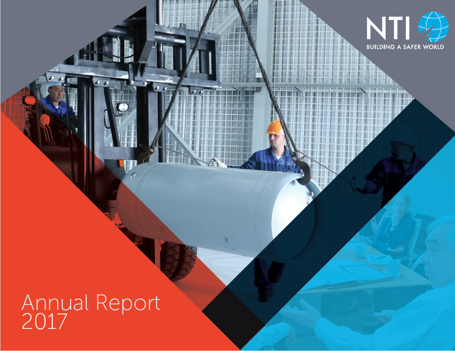 "Cover for the ""NTI 2017 Annual Report"" report"