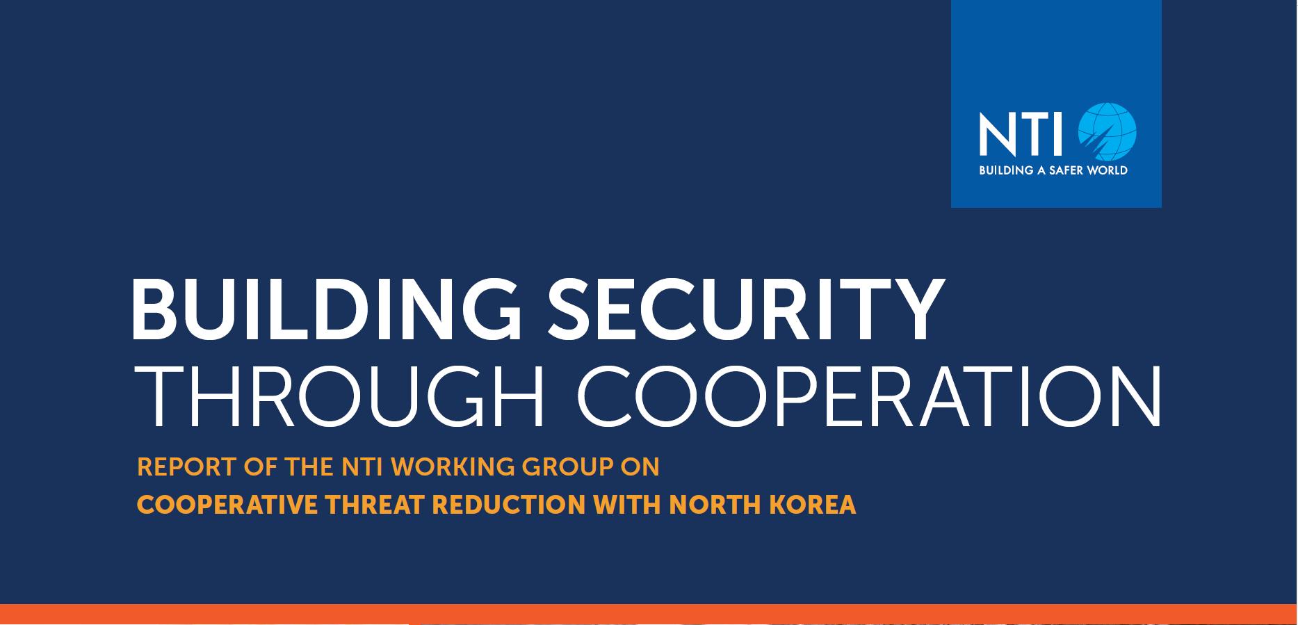 "Cover for the ""NTI 2010 Grant Report"" report"