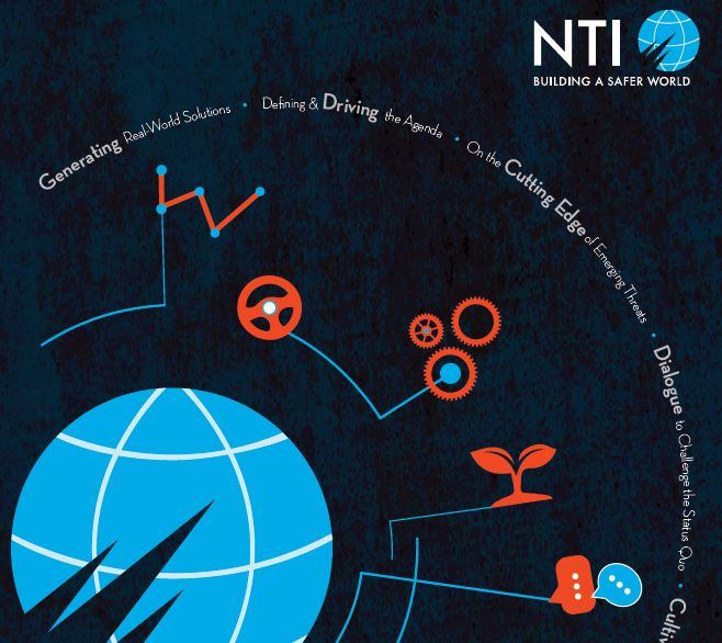 "Cover for the ""NTI 2015-2016 Biannual Report"" report"